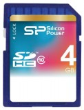 Silicon Power SDHC Card 4GB Class 10