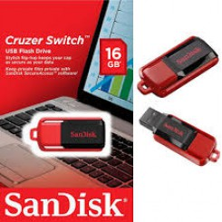 USB 16GB SanDisk Cruzer Switch  16GB (SDCZ50-016G-B35)