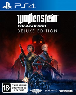 Wolfenstein: Youngblood. Deluxe Edition [PS4, русская версия]
