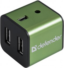 Defender Quadro Iron USB2.0, 4 порта