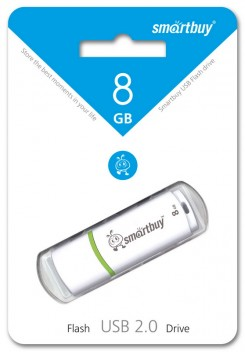 USB флэш-диск Smart Buy 8GB Crown White (SB8GBCRW-W)