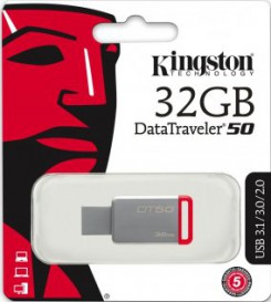 Kingston DataTraveler 50 32GB [DT50/32GB]