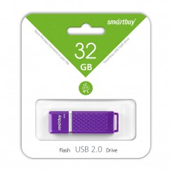 USB Flash Drive 32Gb SmartBuy Quartz (Violet)