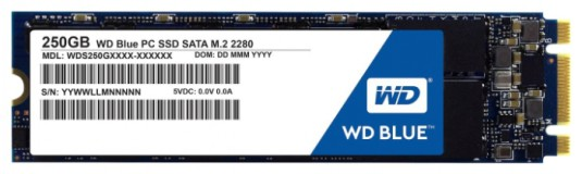 WD Blue M.2 2280 250GB [WDS250G1B0B]