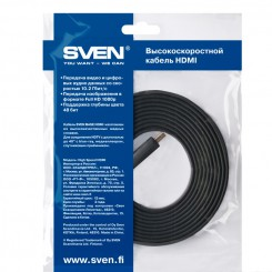 Sven HDMI 19M-19M High speed 5.0м