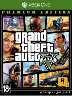 Игра Grand Theft Auto V. Premium Edition [Xbox One, русские субтитры]