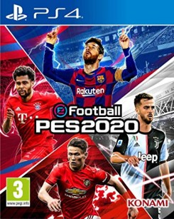 eFootball Pro Evolution Soccer 2020 [PS4, русские субтитры]